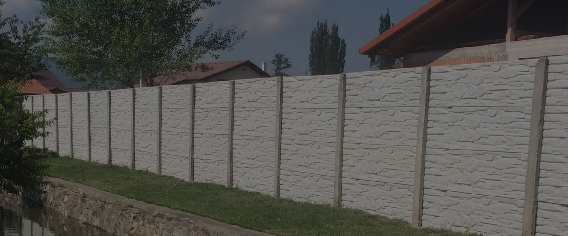Producem orice tip de gard din beton